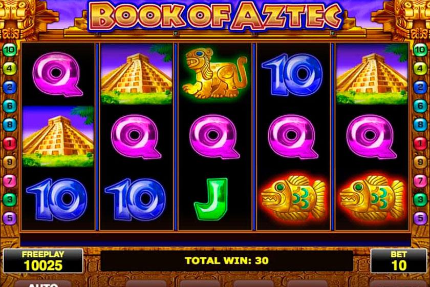 игровой автомат онлайн Book of Aztec