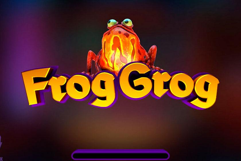 игровой слот онлайн Frog Grog